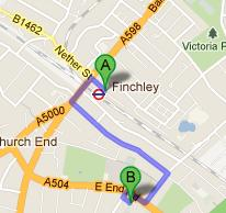 How to get to Akiva Primary School
