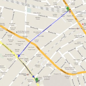 How to get to Al-Sadiq and Al-Zahra Schools, London