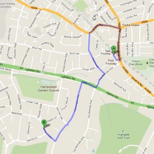 How to get to Annemount nursery and Pre-prep School, London