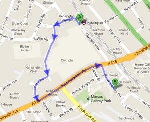 How to get to Avonmore Primary School, London