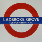 Ladbroke Grove Tube Station London