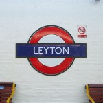 Leyton Tube Station London