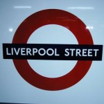 Liverpool Street Tube Station London