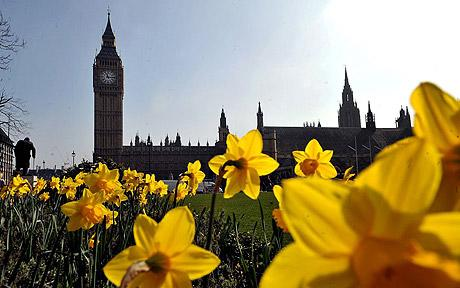 things to do during march in london