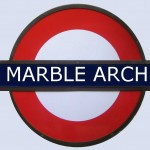 Marble Arch Tube Station London
