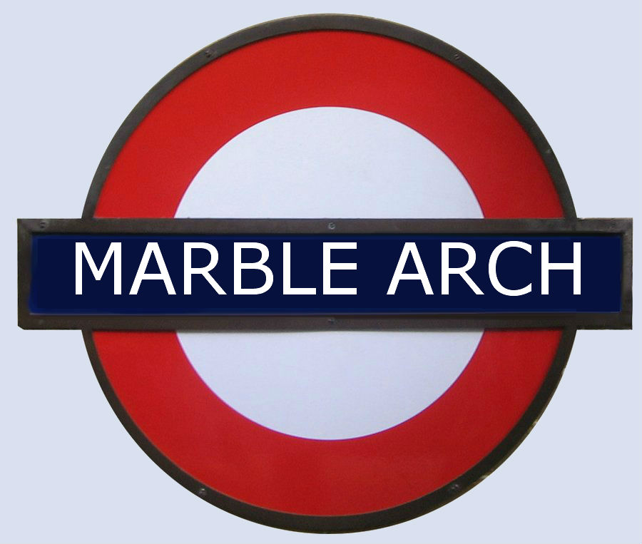 MArble Arch tube Station