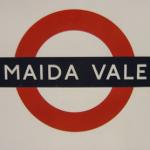 Maida Vale Tube Station London