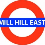 Mill Hill East Tube Station London