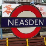 Neasden Tube Station London