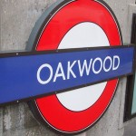 Oakwood Tube Station London
