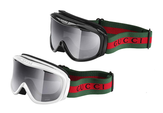 Original Gucci Goggles from front