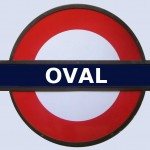 Oval Tube Station London