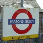Parsons Green Tube Station London