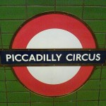 Piccadilly Circus tube station, London