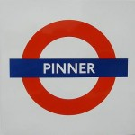 Pinner Tube Station London