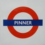 Pinner Tube Station London