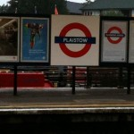 Plaistow Tube Station in London