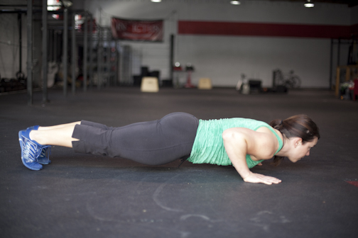 Performing The Perfect Push-up