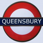 Queensbury Tube Station London
