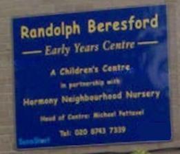 Randolph Beresford Early years center