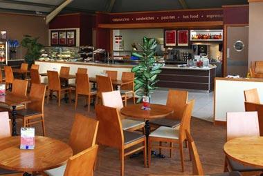 Restaurants and Coffee Harrow and Wealdstone Tube Station London