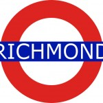 Richmond Tube Station London