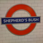 Shpherd bush tube Station
