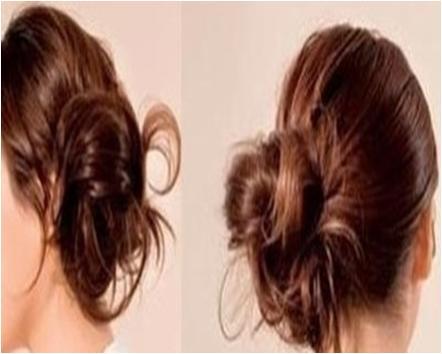 Side Swept Bun Hairstyles