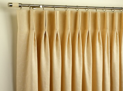 triple pleat curtains instructions