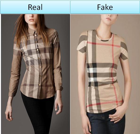 Spot Fake Burberry Shirts