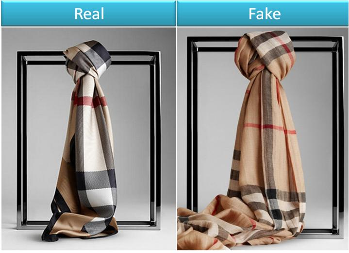 Fake vs. Origional Burberry Scarf