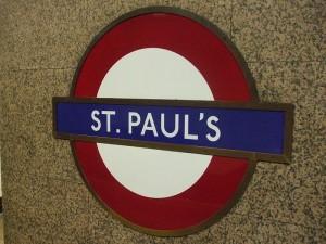 St. Paul's Tube Station
