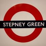 Stepney Green Tube Station London