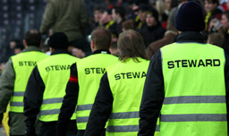 Stewards at an event