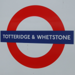 Totteridge & Whetstone Tube Station London