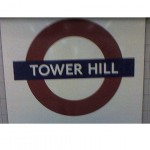 Tower Hill Tube Station in London