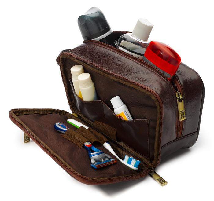 Packing a Dopp Kit