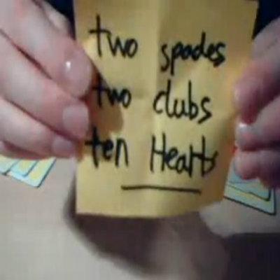 Triple Threat Card Trick