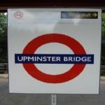 Upminster Bridge Tube Station London