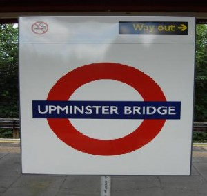 Upminster Bridge Tube Station
