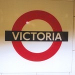 Victoria Tube Station London