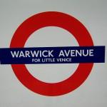 Warwick Avenue Tube Station London