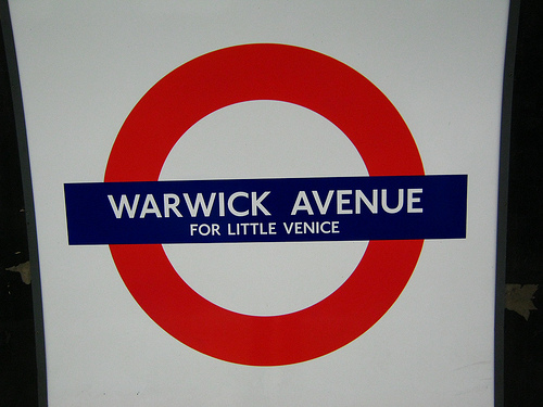 Warwick Avenue tube station, London