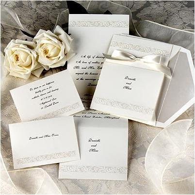 Wedding Acceptance Letter