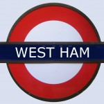 West Ham Tube Station in London
