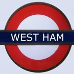 West Ham Tube Station London
