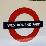 Westbourne Park tube station, London