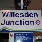Willesden Junction Tube Station London