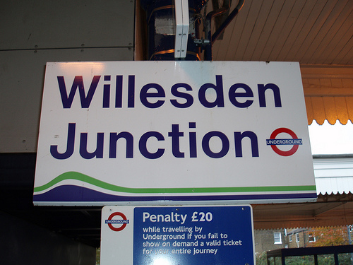 Willesden Junction Tube Station
