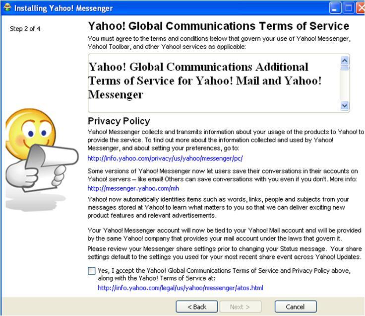 yahoo messenger 2012